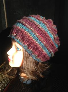 75701ce55c3 Ravelry  Mushroom Knit Cap pattern by Carrissa Knox