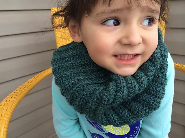 Ravelry Toddler Infinity Scarf Pattern By Carrissa Knox