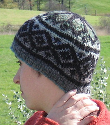 Ravelry Fake Isle Hat Pattern By Amy King