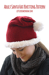 Adult_santa_hat_knitting_pattern_01_littlerediwndow_small_best_fit
