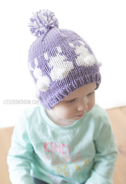 Ravelry: Easter Bunny Fair Isle Hat pattern by Cassandra May
