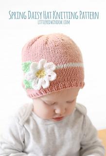 Darice_baby_acrylic_yarn_daisy_flower_hat_knitting_pattern_07_littleredwindow_small2