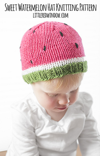 Watermelon_hat_kids_baby_knitting_pattern_04_littleredwindow_medium
