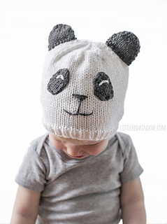 562af04526b Ravelry  Sweet Panda Hat pattern by Cassandra May