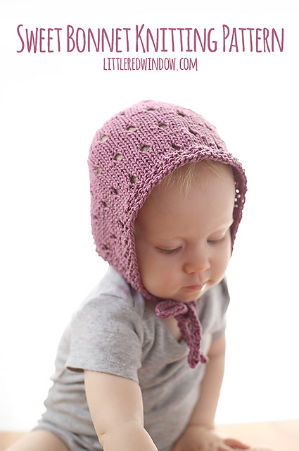 Ravelry  Sweet Baby Bonnet pattern by Cassandra May 10bd6ed1202