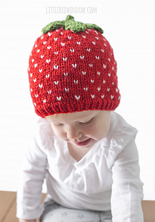 44782c04e5f Ravelry  Sweet Strawberry Hat pattern by Cassandra May