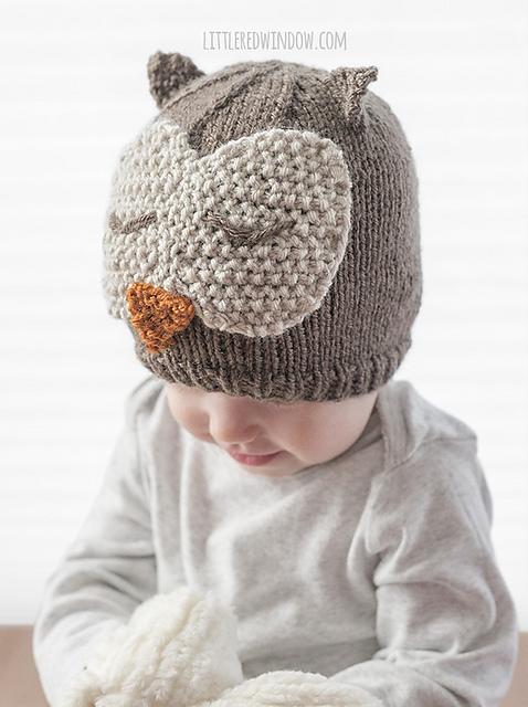 Ravelry Sleepy Owl Hat Pattern By Cassandra May
