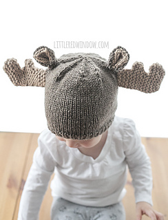 Ravelry  Moose Hat pattern by Cassandra May 680bf9d21d1
