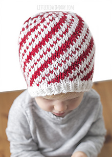 610f4a17c Peppermint Candy Cane Hat pattern by Cassandra May