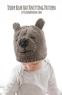 6622d294 Teddy Bear Hat pattern by Cassandra May