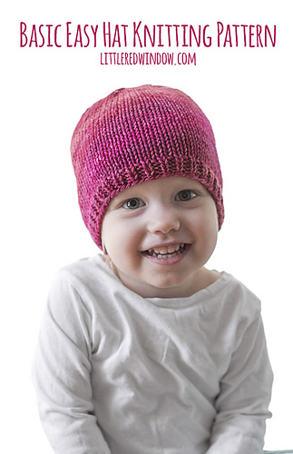 Ravelry Easy Baby Hat Pattern By Cassandra May