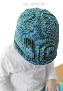 Ravelry Easy Rolled Brim Baby Hat Pattern By Cassandra May