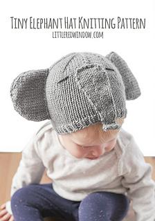 Ravelry  Tiny Elephant Hat pattern by Cassandra May 2f9c4ac463f