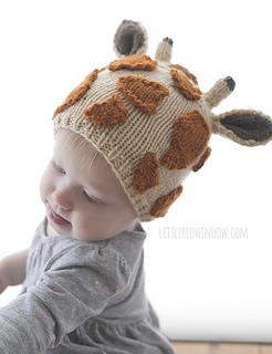 Ravelry  Jolly Giraffe Hat pattern by Cassandra May e0f1ac218b0
