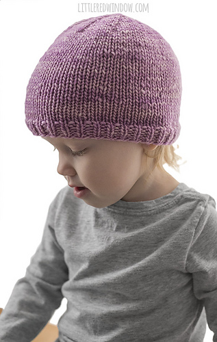 Ravelry Easy Knit Flat Baby Hat Pattern By Cassandra May