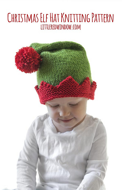 8a3336458f5 Ravelry  Christmas Elf Hat pattern by Cassandra May