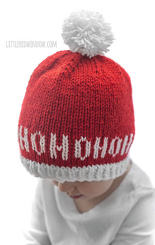 944c182e6 Ravelry: Ho Ho Ho Santa Hat pattern by Cassandra May