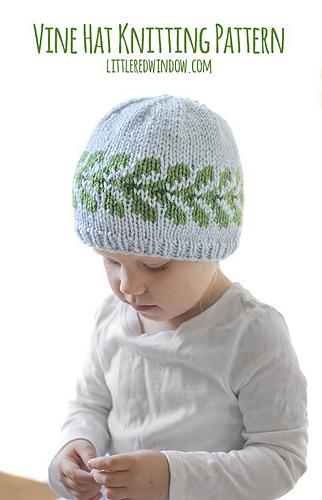 3381b2da4 Vine Hat pattern by Cassandra May