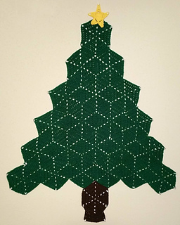 Christmas Tree Wall Hanging Pattern By Catherine Peacher
