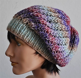 Ravelry  Treasure Slouch Hat pattern by Cathy Campbell 7dfbe65f754