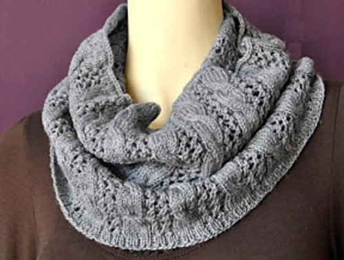 Ravelry Cables N Lace Cowl Pattern By Cathy Campbell