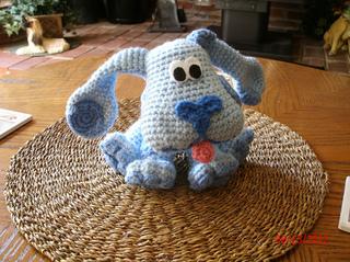 Amigurumi Dog Crochet Patterns : Ravelry: the blue dog amigurumi doll pattern by cecilia siempre