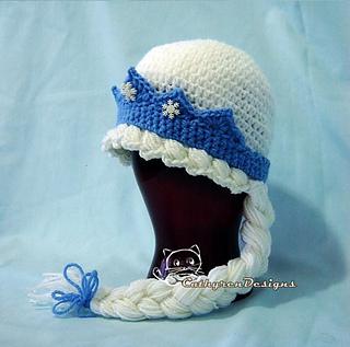 Ravelry  Frozen Princess Elsa Hat pattern by Cathy Ren 8dd93aaafa6