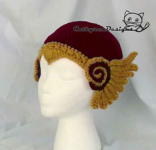 ad641367 Viking Helmet Valkyrie Hat pattern by Cathy Ren
