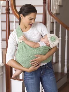 Ravelry Mother S Love Baby Sling Amp Beanie Pattern By