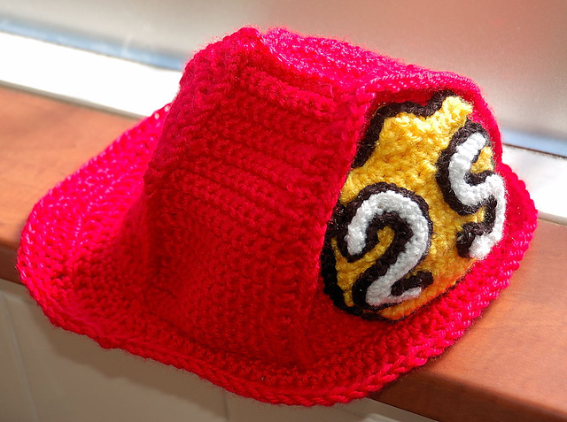 Ravelry Childs Fireman Hat Pattern By Carla Croissant