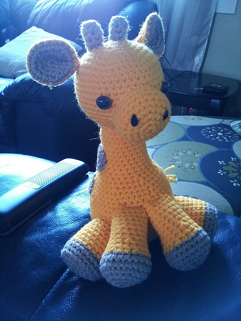Ravelry Baby Giraffe Amigurumi Pattern By Courtney Deley