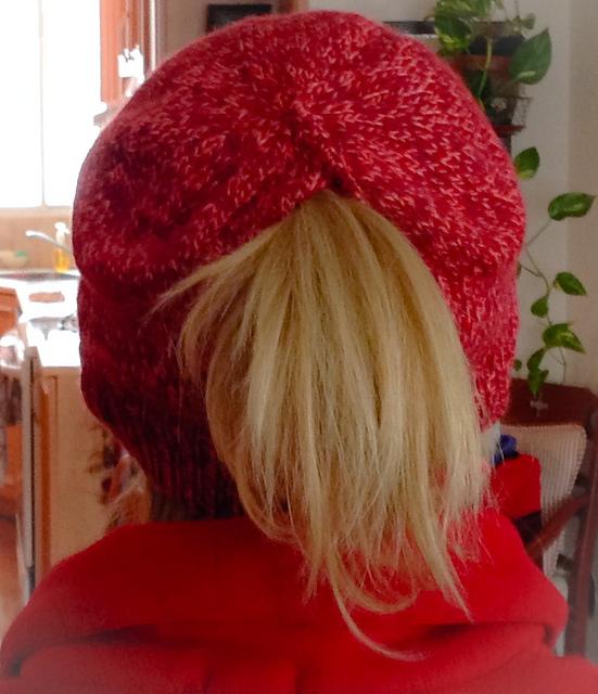VPbao Bonnet avec Trou pour Queue de Cheval Chapeau Femme Tricot Chaud