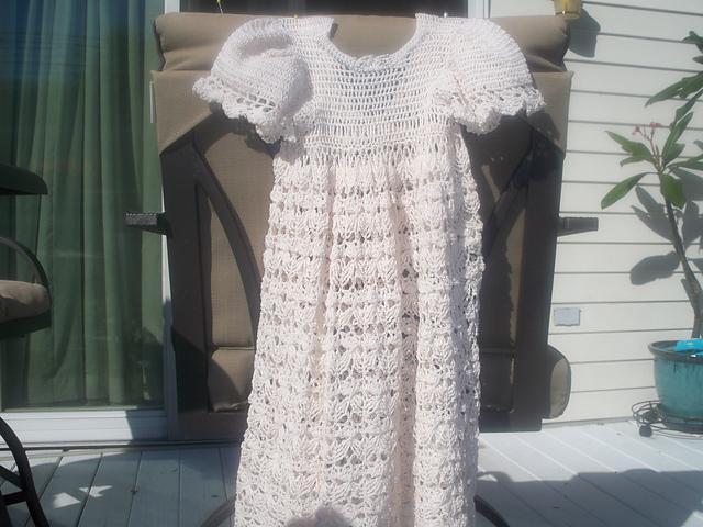 Ravelry: Christening Dress pattern by Brenda McAfee