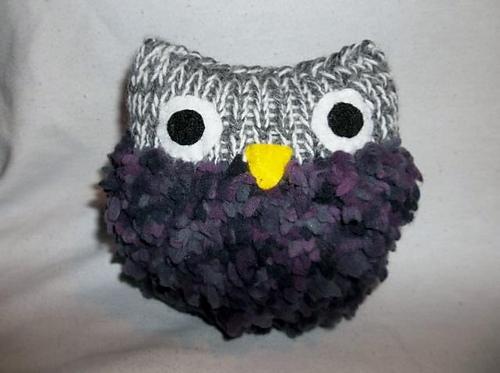 Ravelry Loom Knit Owl Pattern By Stephanie May