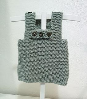 1412ac063 Ravelry  Garter stitch baby vest pattern by Charm Knits