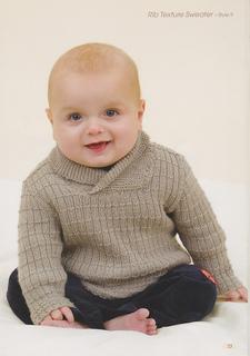 e258ddcc3 Ravelry  Shawl Collar Rib Texture Sweater pattern by Patons Australia