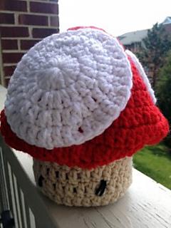 Ravelry Mario Toad Mushroom Newborn Baby Crochet Hat Pattern By