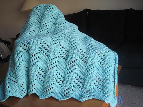 Ravelry Leisure Arts 75001 Beginners Guide Ripple Afghans To