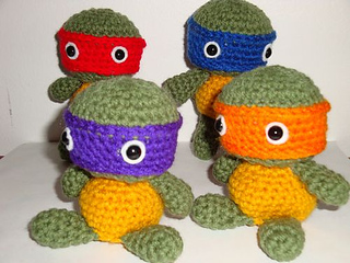 Ravelry: Tiny Tot Ninja Turtles pattern by Chiwaluv ...
