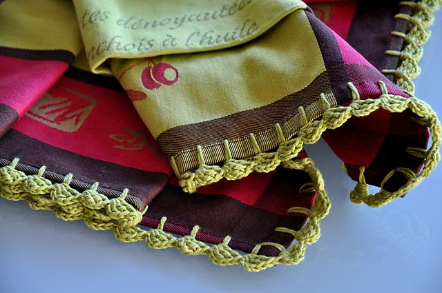 Ravelry Easy Zig Zag Crocheted Edging Pattern By Kathleen Mower
