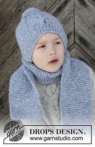 Ravelry S30 17 B The Big Chill Scarf Pattern By Drops Design