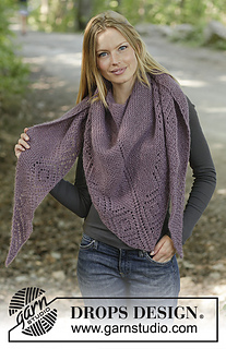 f5c3d606464e Ravelry  194-26 Amethyst Amour pattern by DROPS design