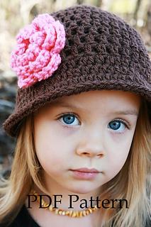 Julia Crochet Hat Pattern For Little Girls Pattern By Christine Ravelry