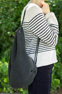Ravelry Crocheted Bucket Bag Pattern By Churchmouse Yarns And Teas