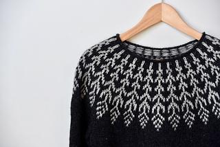 1545e2019 Ravelry  Fern   Feather pattern by Jennifer Steingass