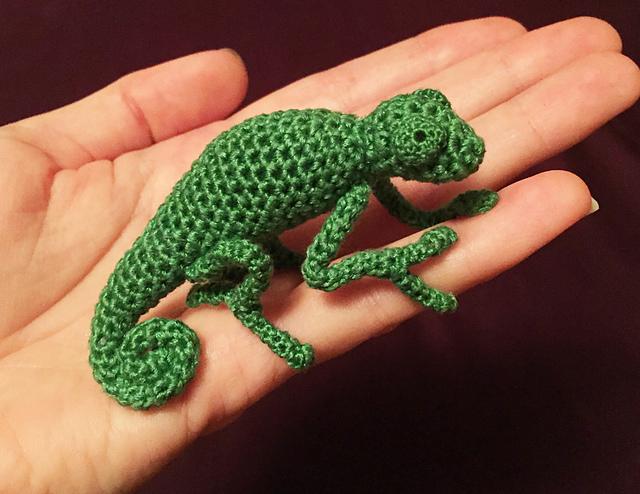 Ravelry Chameleon Pattern By Andrea Blumberg