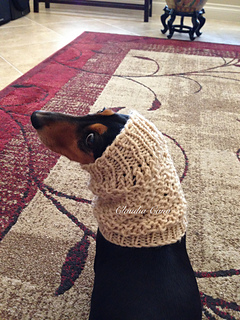 Ravelry Loom Knit Dog Snood Pattern By Claudia Cano