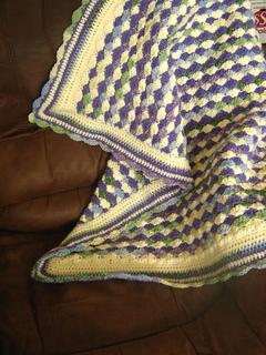 Ravelry Baby Blanket Shells Of Love Pattern By Darleen