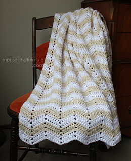 Ravelry Chevron Sand Blanket 7250 Pattern By Carla Malcomb