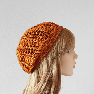 Ravelry: Shell Stitch Slouchy Beanie pattern by Colour and ...